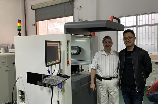 Selective Coating Machine SC-445 Training Report